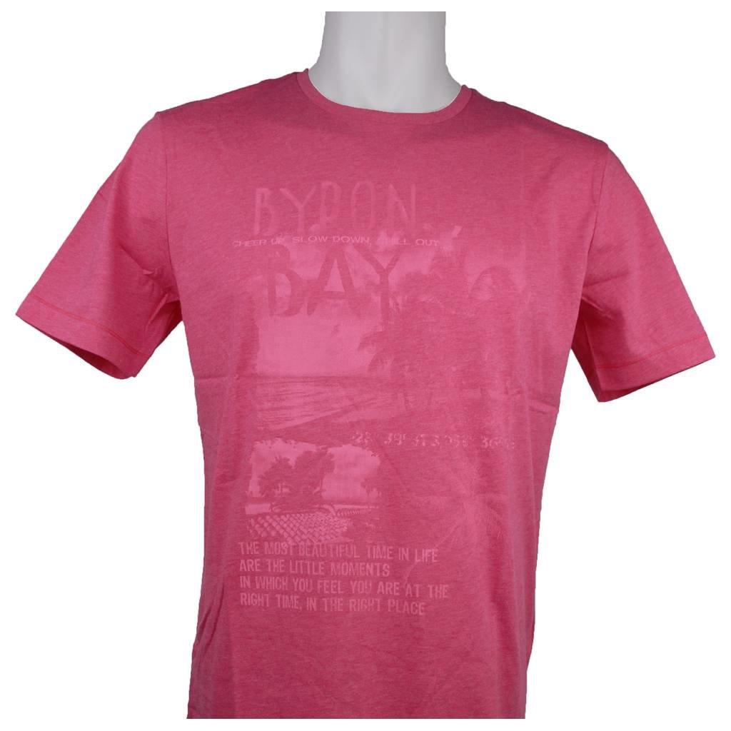 MarVelis MarVelis T-shirt pink met print