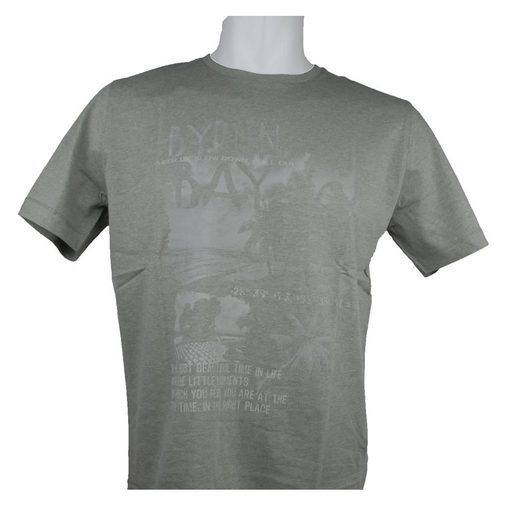 MarVelis MarVelis T-shirt kaki met print
