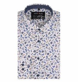 MarVelis Casual overhemd met fraaie print , New Kent kraag
