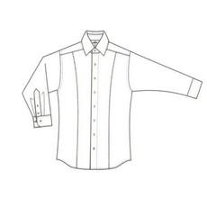 MarVelis MarVelis overhemd zwart met deelnaad Body Fit, New York Kent kraag
