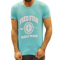 A Fish Named Fred A Fish Named Fred Tee Light Blue