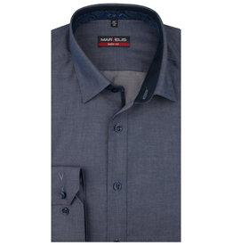 MarVelis MarVelis overhemd blue Body Fit, New York Kent kraag