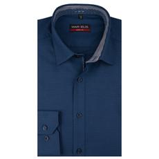 MarVelis MarVelis overhemd donkerblauw  motief Body Fit, New York Kent kraag