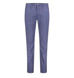 MAC Jeans MAC Lennox Printed Gabardine, Nautic Blue Check
