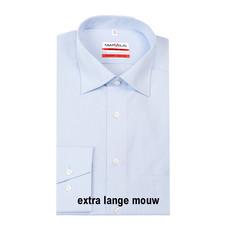 MarVelis MarVelis strijkvrij overhemd Modern Fit blue extra lange mouw, New Kent