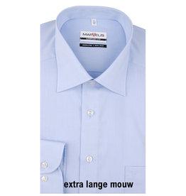 MarVelis MarVelis Comfort Fit blue extra lange mouw, New Kent