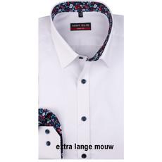MarVelis MarVelis overhemd wit Body Fit, New York Kent kraag