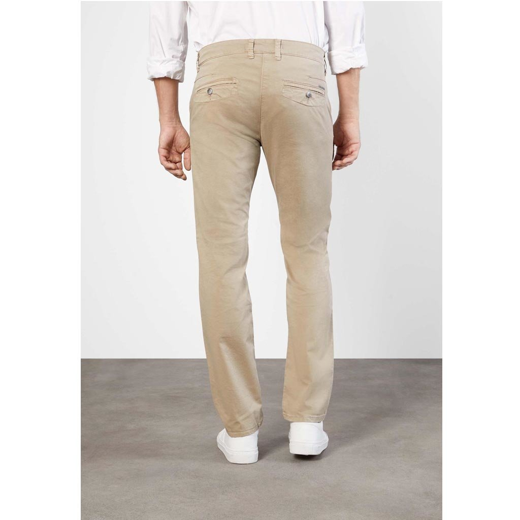 MAC Jeans MAC Lennox Canvas Stretch, Light Taupe PPT