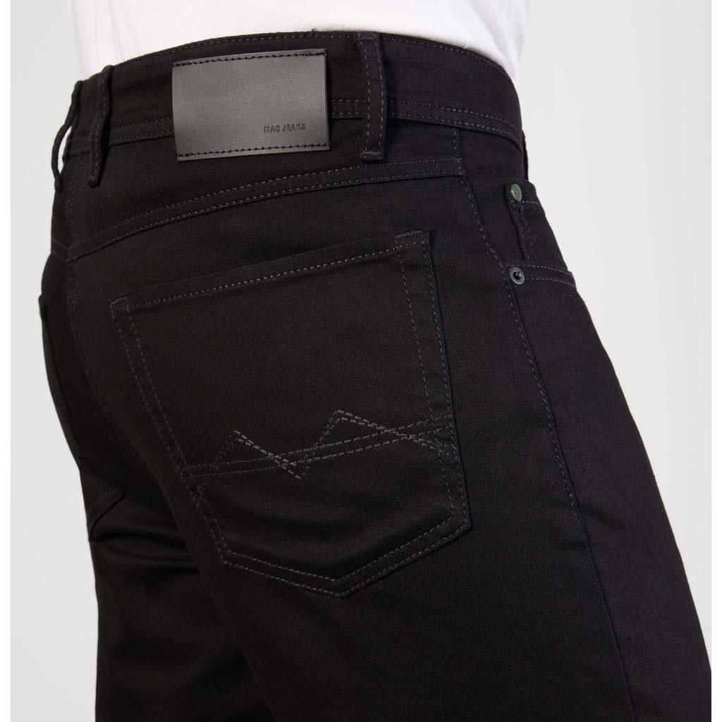 MAC Jeans MAC Arne Black Stretch Denim, Stay Black Black