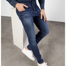 MAC Jeans MAC Stan Workout Denimflexx, Dark Indigo Authentic Wash