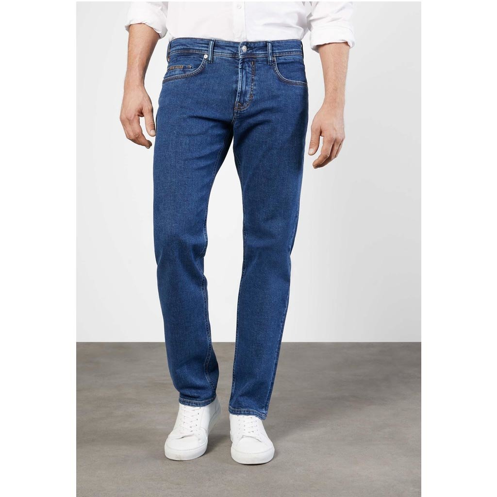 MAC Jeans MAC Ben Authentic Denim, Dark Stonewash