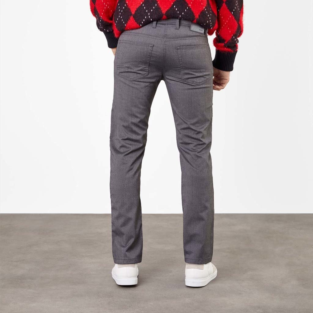MAC Jeans Arne Micro Structure Stretch, Flannel