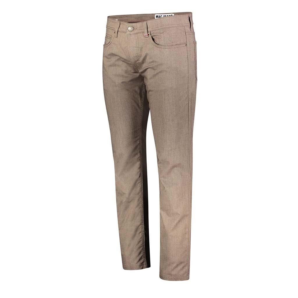 MAC Jeans Arne Micro Structure Stretch, Terra