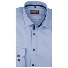 MarVelis MarVelis overhemd blue fine twill Body Fit, New York Kent kraag