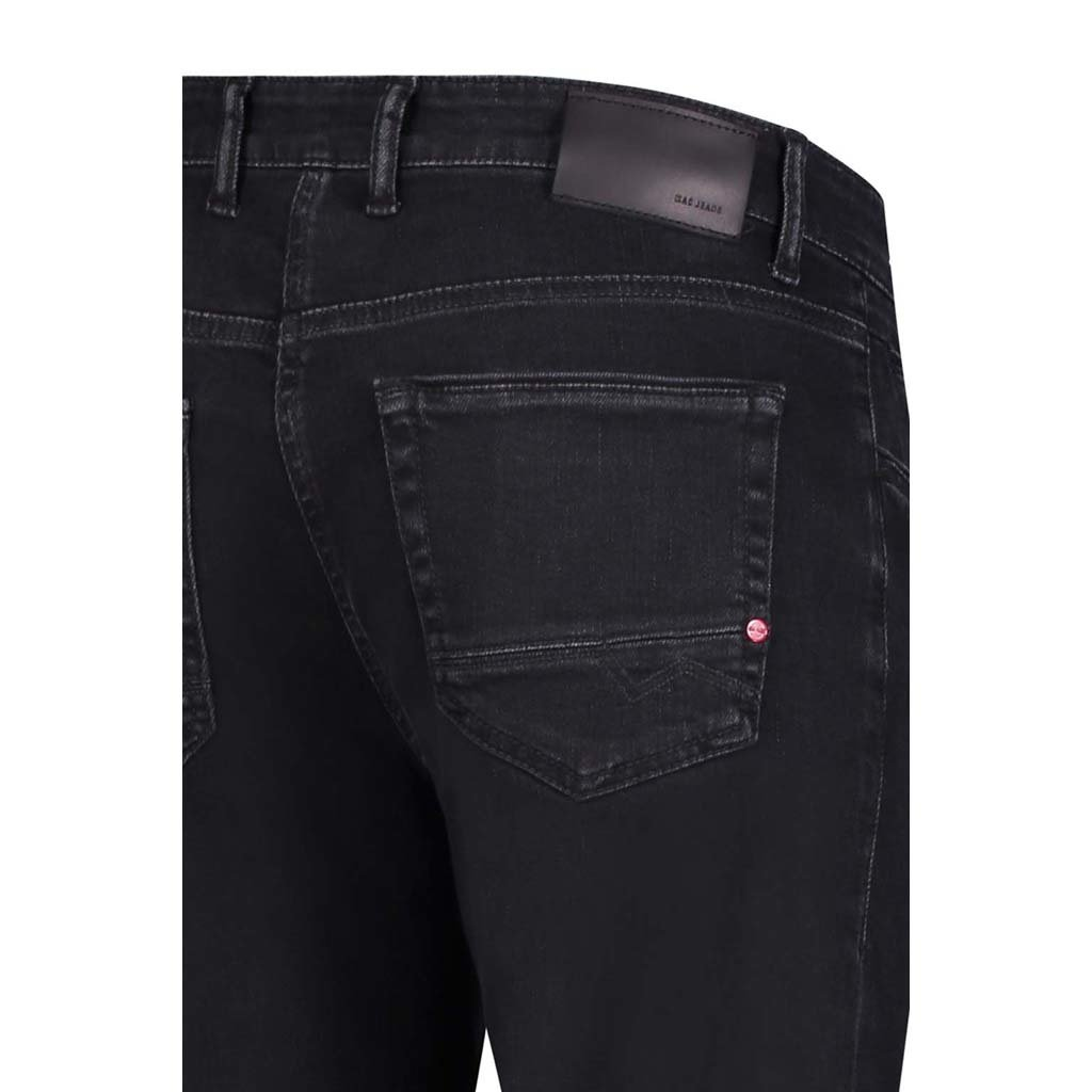 MAC Jeans MAC Arne Pipe Workout Denimflexx, Black Black Washed
