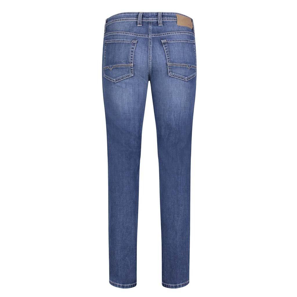 MAC Jeans MAC Arne Left Hand Denim, Dark Blue Authentic 3D Wash