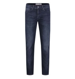 MAC Jeans MAC Arne Left Hand Denim, Deep Blue Authentic Used Od Black