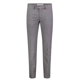 MAC Jeans MAC Lennox Ceramica Wool Look, Steel Blue Herringbone