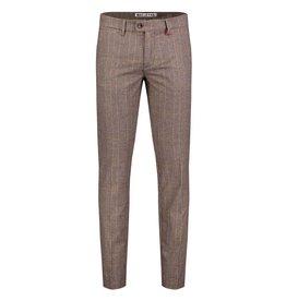 MAC Jeans MAC Lennox Ceramica Wool Look, Dark Taupe Check