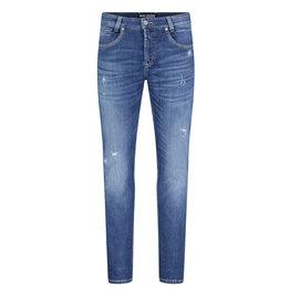 MAC Jeans MAC Arne Pipe Workout Denimflexx, Authentic Destroyed Blue