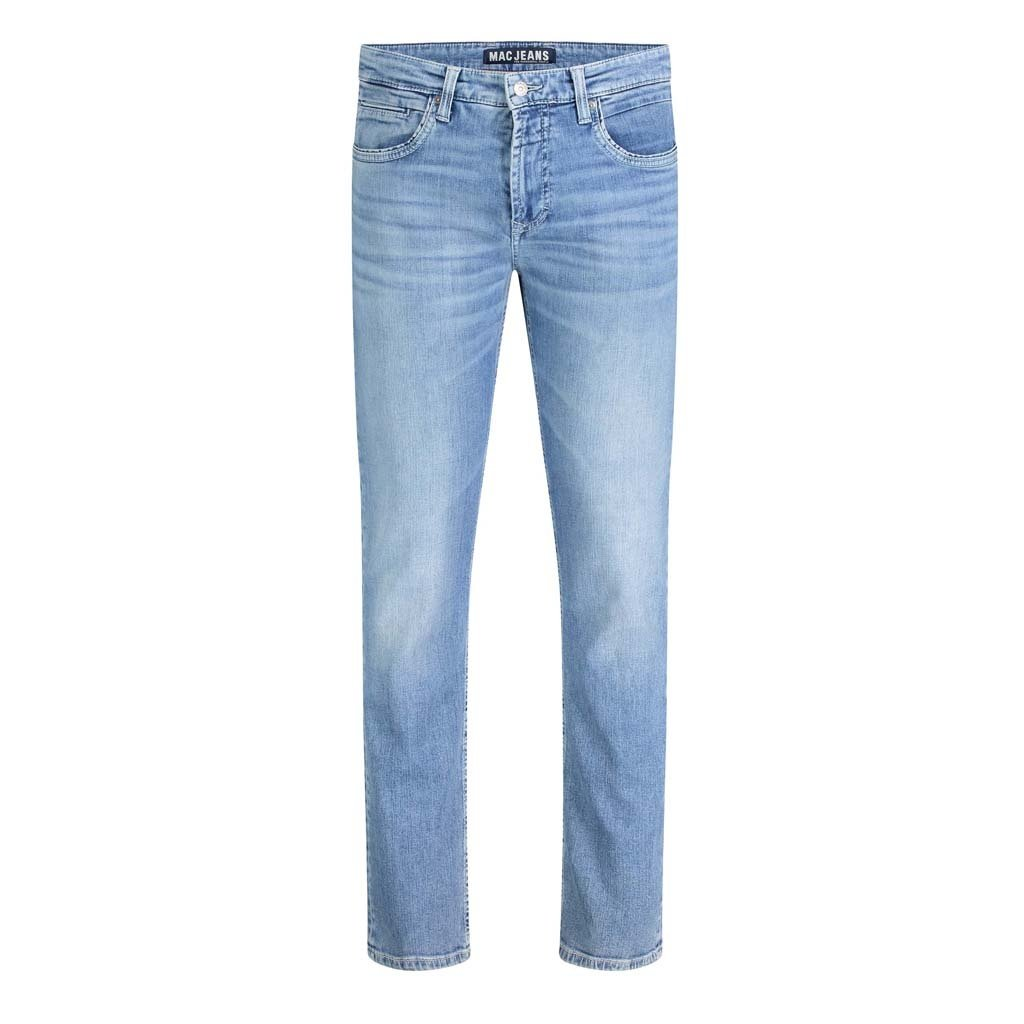 MAC Jeans MAC Arne Pipe Workout Denimflexx, Mid Blue Japanese Vintage Wash