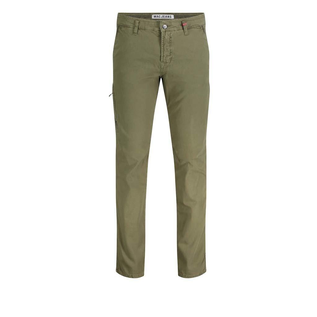 MAC Jeans MAC Lennox Worker Canvas Stretch, Martini Olive PPT