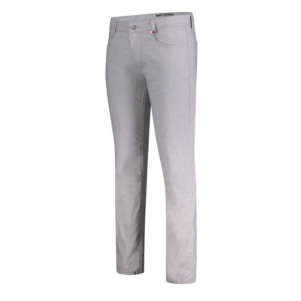 MAC Jeans MAC Arne Yarn Dyed Stretch, Platinum Grey