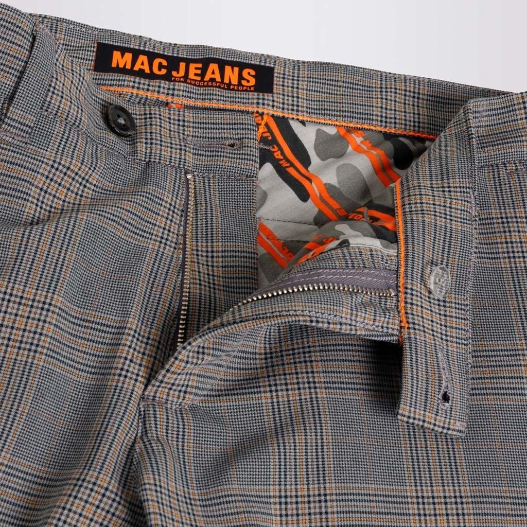 MAC Jeans MAC Lennox Ceramics Bi-Stretch, Ginger Brown Check