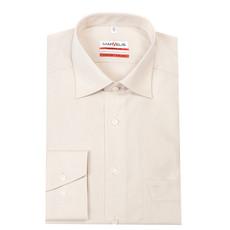 MarVelis MarVelis strijkvrij overhemd ecru modern fit