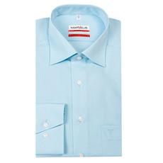 MarVelis MarVelis strijkvrij overhemd lichtblauw modern fit  - Copy