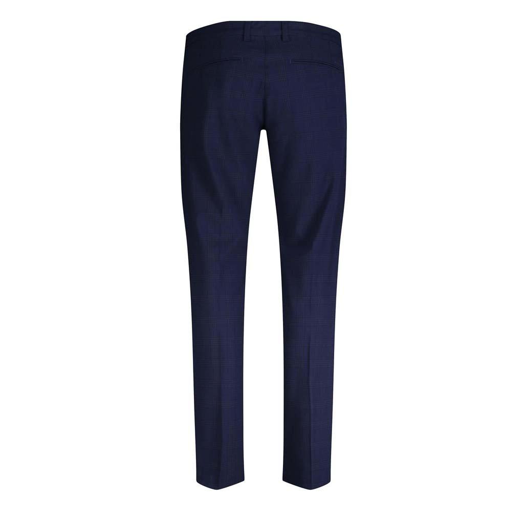 MAC Jeans MAC Lennox Ceramics Bi-Stretch, Nautic Blue Check