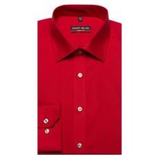 MarVelis MarVelis overhemd Body Fit rood met New York Kent kraag.