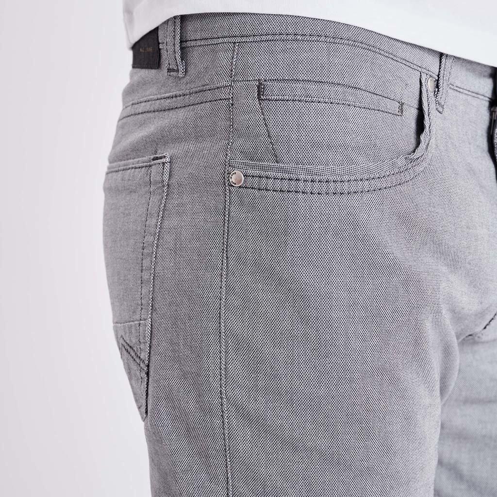 MAC Jeans MAC Arne Pipe Structure Stretch, Midnight Blue