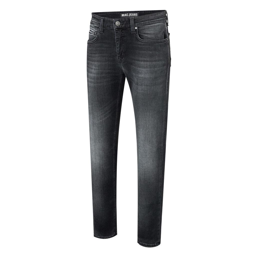 MAC Jeans MAC Arne Left Hand Denim, Authentic Dark Grey Blue