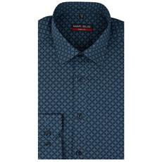 MarVelis MarVelis strijkvrij overhemd met  print, Body Fit