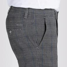 MAC Jeans MAC Lennox Printed Flex Gabardine, Steel Blue Check