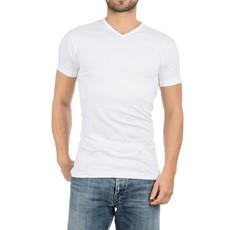AlanRed AlanRed Vermont 2-pack thin V-neck regular fit white