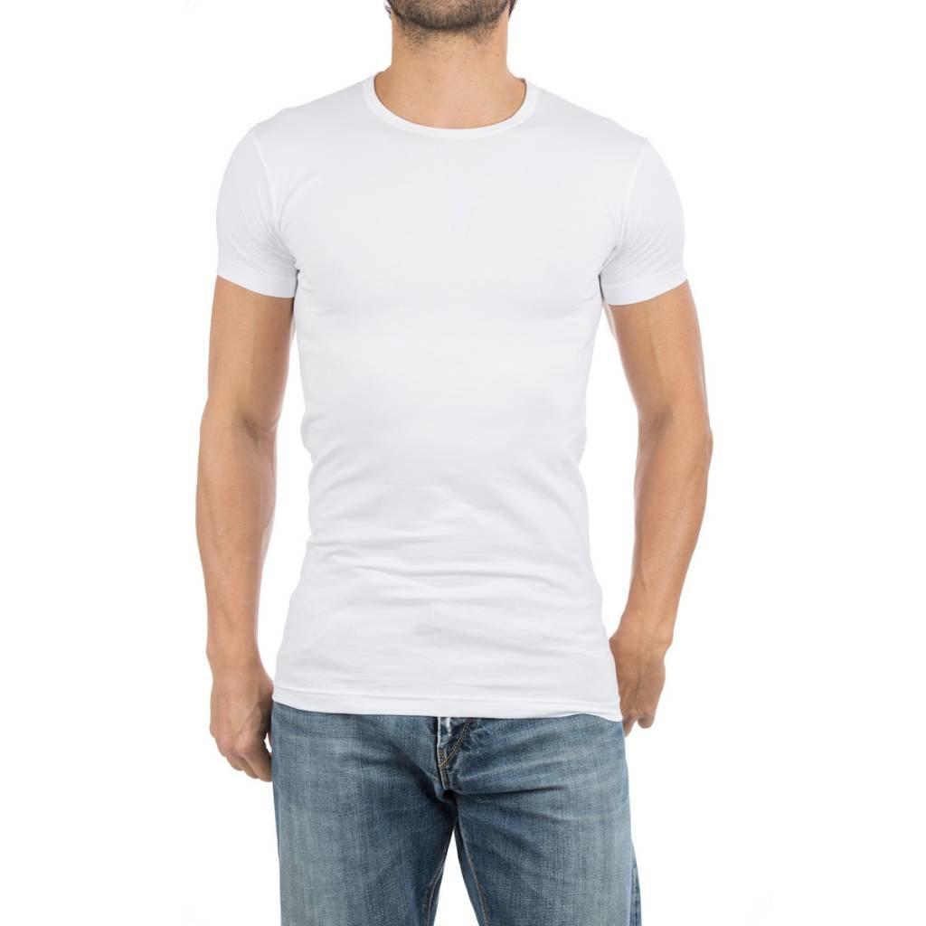 AlanRed AlanRed Ottawa stretch 2-pack O-neck body fit white