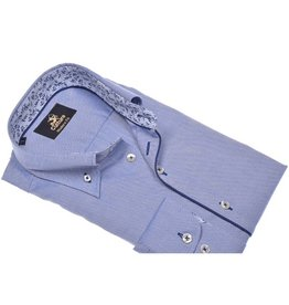 Culture Culture Modern Fit blue , dobby. Button down kraag.