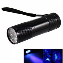 UV Flashlight 9 Leds