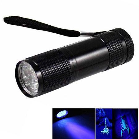 Glowsticks.com UV Flashlight 9 Leds