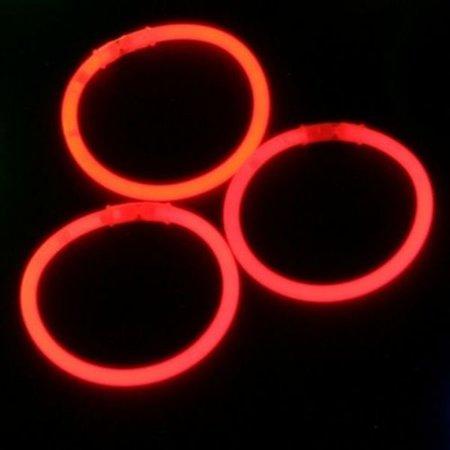 Glowsticks.com Glow Bracelets Red