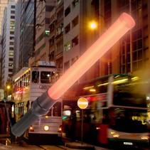 Flashing LED Light Traffic Stick Baton