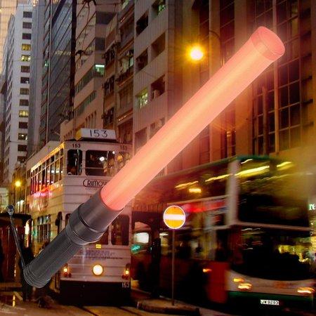 Glowsticks.com Flashing LED Light Traffic Stick Baton