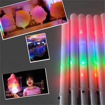 Light Up Candy Floss Sticks