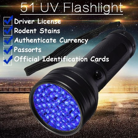 Glowsticks.com UV Flashlight 51 LEDS (bulk)