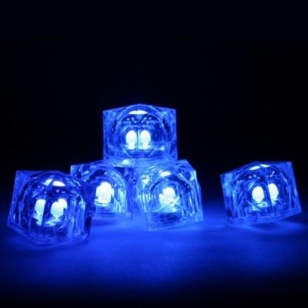 Glowsticks.com Blue Light Up Ice Cubes / LED Ice Cubes