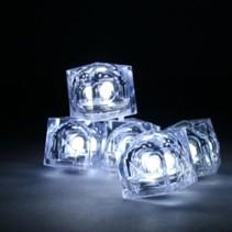 White Light Up Ice Cubes