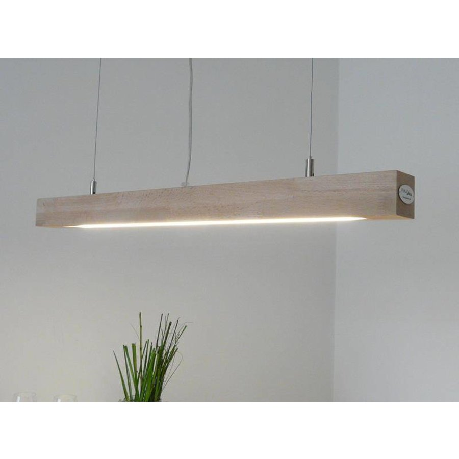 Hängelampe Deckenlampe Holz Buche-1