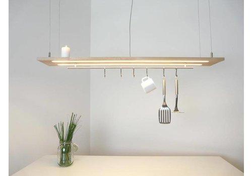 Peka Ideen Esstischleuchte Küchenlampe  Holz Buche